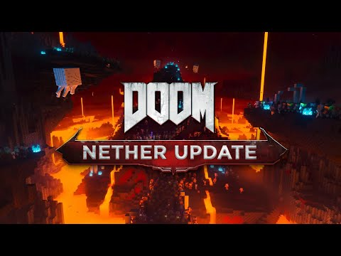 Minecraft Nether Update Trailer with DOOM Eternal's Theme (BFG Division)