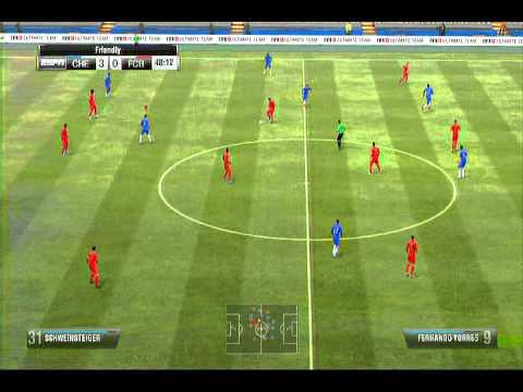fifa 13 ps3 gameplay chelsea vs fc bayern youtube