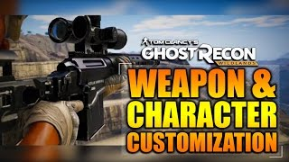 Ghost Recon Wildlands - In Depth: WEAPON & CHARACTER CUSTOMIZATION