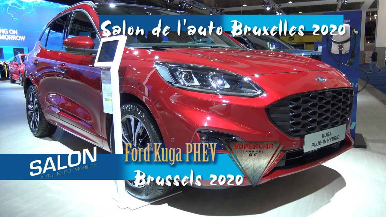 2020 Ford Kuga St Line X Phev 225 Ch Interior Exterior Brussels Motor Show 2020 Bruxelles Youtube