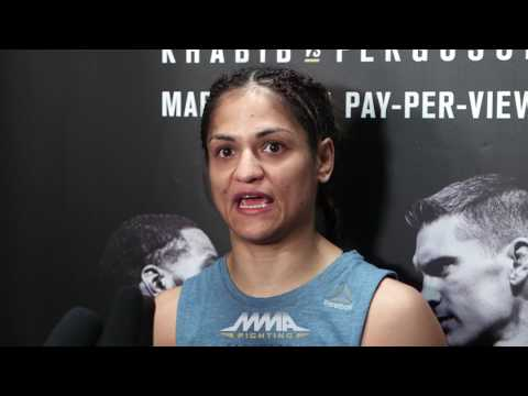 UFC 209: Ecstatic Cynthia Calvillo Doubts She'll Return to Job at The Cheesecake Factory