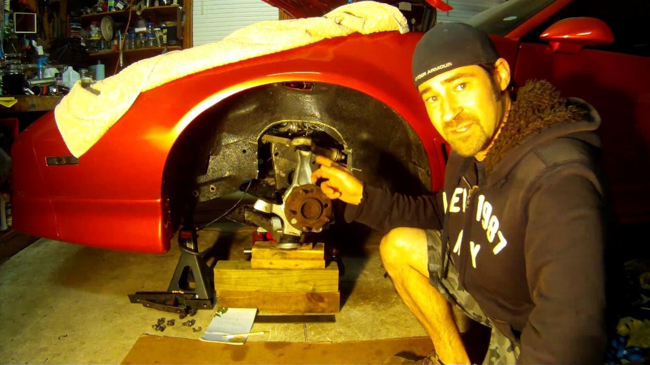 My frame!! Pt  4 C4 corvette front suspension swap in a 3rd gen firebird