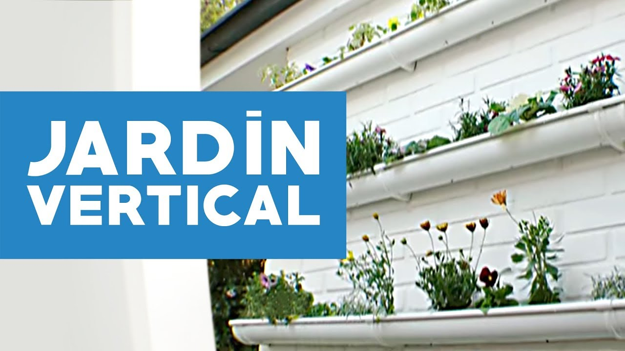 C mo hacer un jard n vertical youtube for Como hacer un jardin