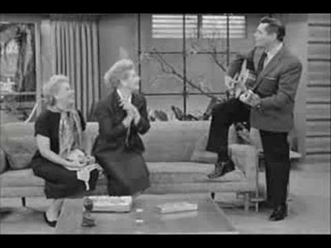 Ricky sings an Old Spanish Song to Lucy & Ethel