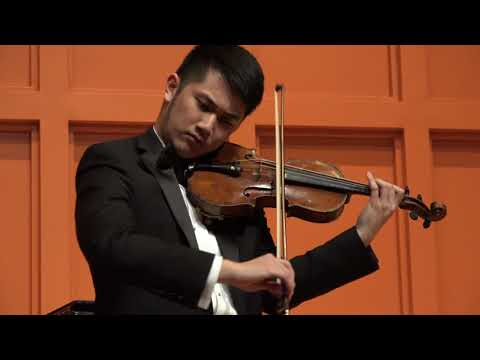 Ronald Sachs International  Competition 2018 GRAND PRIZE WINNER-Tianyu Liu-Violin