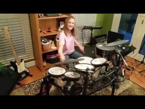Mia / girl drummer (12-years old) / The Police / So Lonely