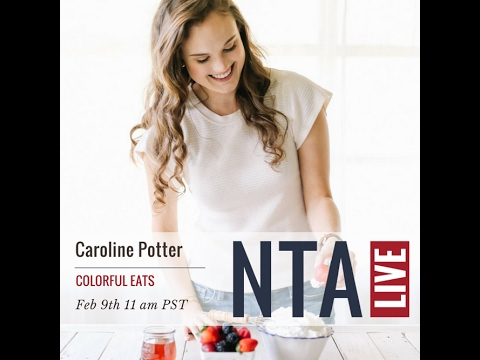 Meet Nutritional Therapy Graduate, Caroline Potter - Facebook Live Recording