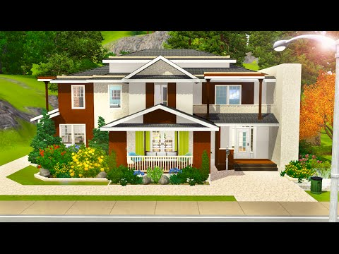Sims 3 Speed Build - Beachy Abode