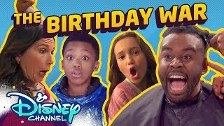 The Birthday War 🎁 | Roll It Back | Just Roll with It |  Disney Channel