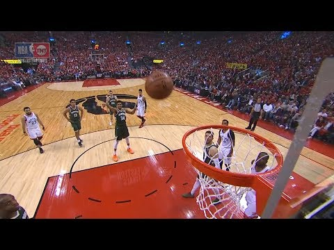 Giannis Antetokounmpo Airballs a Free-Throw Again - Game 4  Bucks vs Raptors  2019 NBA Playoffs