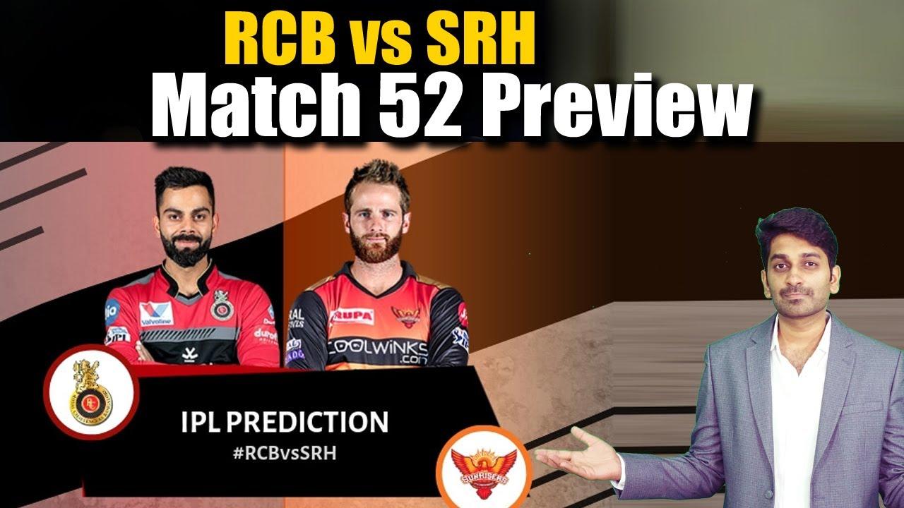 RCB vs SRH Match 52 Preview   IPL 2021   Eagle Sports