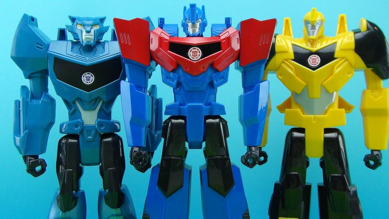 Видео трансформеры игрушки