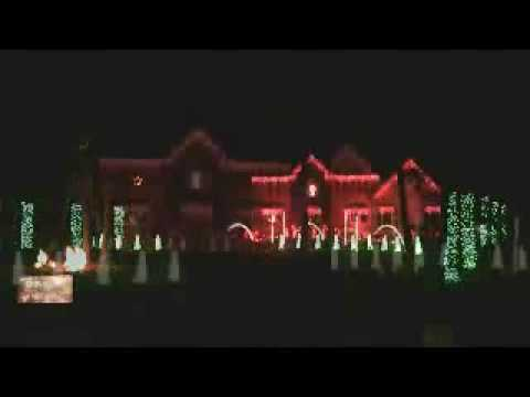 Christmas Lights Controlled By Computer
