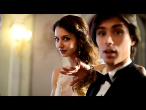Anna TIkhomirova and Artem Ovcharenko shooting for Wedding Magazine, Backstage