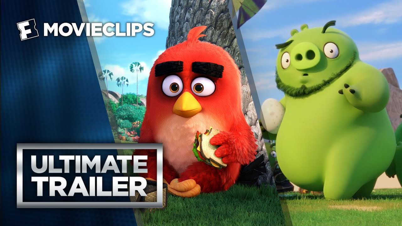 The Angry Birds Movie Ultimate Storybook Trailer (2016) HD