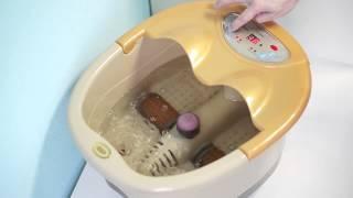 Гидромассажная ванна для ног Promedic LC-8021(http://pro-medic.ru/index.php?ht=89&detail=7759 • Автоматическое вращение массажных роллов позволяет пользователю не осуществ..., 2013-04-18T06:43:04.000Z)