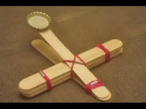 How to make a catapult out of household items easy youtube for Minimalist household items