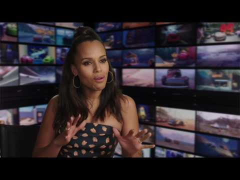 "Cars 3 ""Natalie Certain"" Kerry Washington Interview"