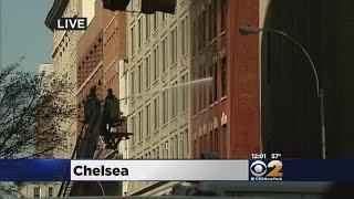 Chelsea Fire Displaces Dozens