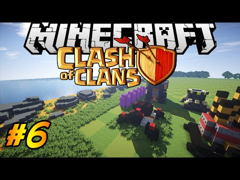 Clash of Clans in Minecraft | Making of #6 | Mortar, Air Defence!