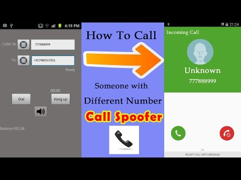 Call Someone with Different Number 2017 - Prank Calls - Fake Caller ID - Android App Call Spoofer