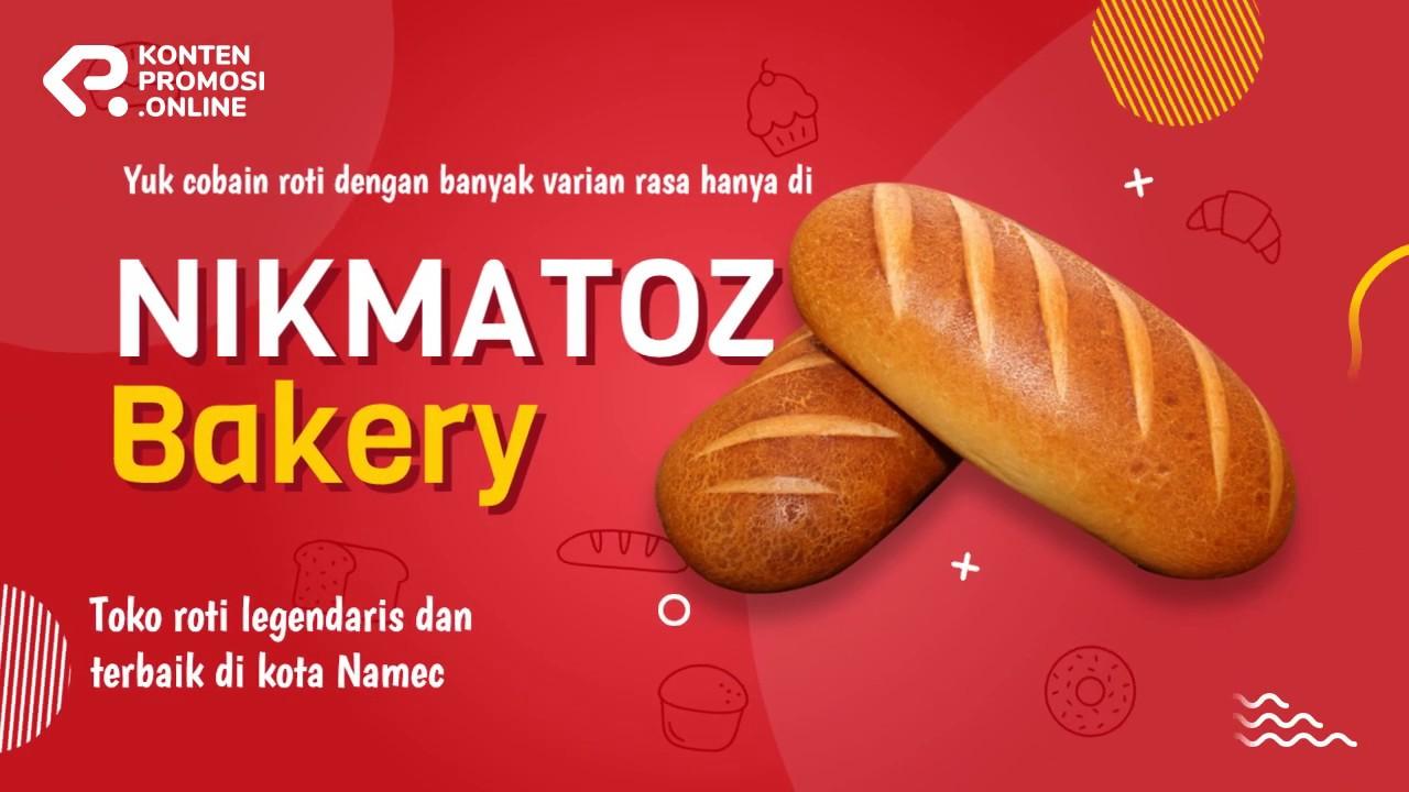 Contoh Video Promosi Produk Makanan Toko Roti Bakery 082171162626 Youtube