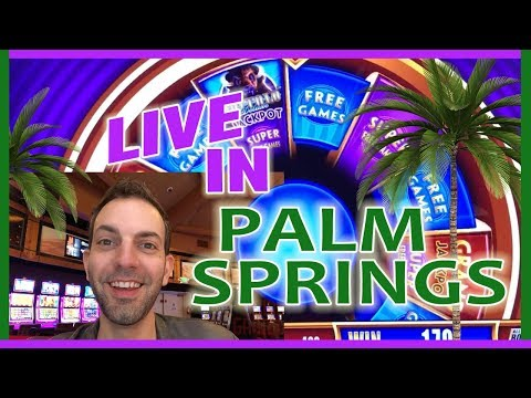 ➡🔴MORE Live Play From 🌴 Palm Springs Casino! 🎰  ✦ Slot Machine Pokies W Brian Christopher