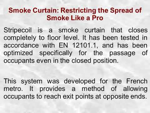 Smoke Curtain: Restricting the Spread of Smoke Like a Pro