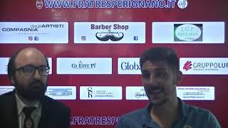 Interviste post partita semifinale playoff campionato Eccellenza 2021: F. Perignano - Tau Calcio