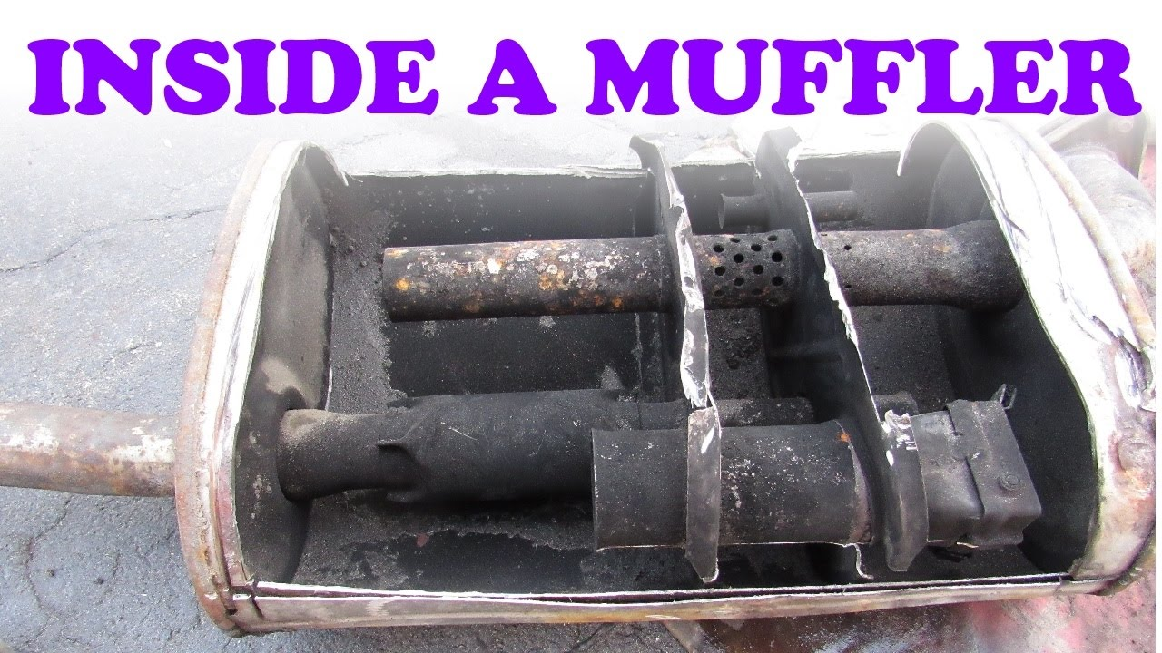 how a muffler works youtube. Black Bedroom Furniture Sets. Home Design Ideas