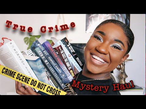 ☆ True Crime & Mystery Book Haul ☆