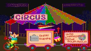 Circus gameplay (PC Game, 1994)