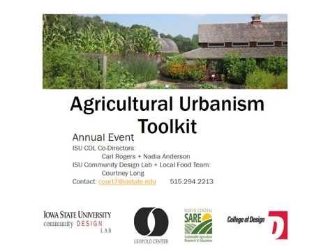 Agricultural Urbanism Process Webinar