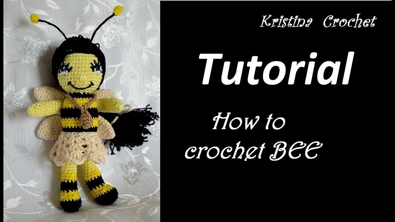 How to Crochet a Bumble Bee || Amigurumi Pattern Tutorial - YouTube | 720x1280