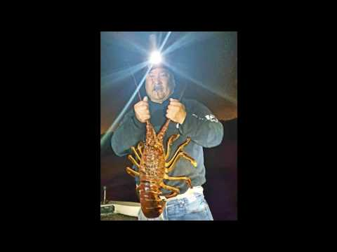 California Spiny Lobster Hooping (6 pounder) - October 13, 2016