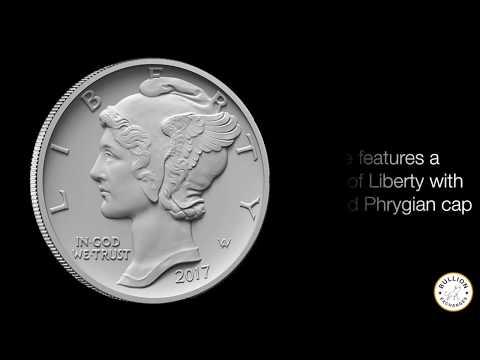 2017 1 oz Palladium American Eagle $25 BU Coin