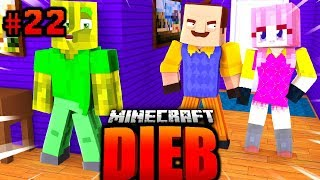 Die FREUNDIN vom NACHBAR?! - Minecraft DIEB #022 [Deutsch/HD]