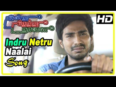 Indru Netru Naalai Movie Scenes | Mia gets shot | Indru Netru Naalai song | Vishnu goes back in time