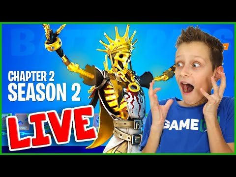 CHAPTER 2 SEASON 2 IS FINALLY HERE!!! [FORTNITE]