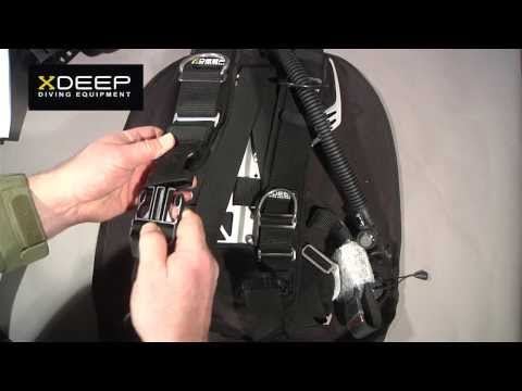 XDeep Ghost Scuba Diving Wing Unboxing & First Impression
