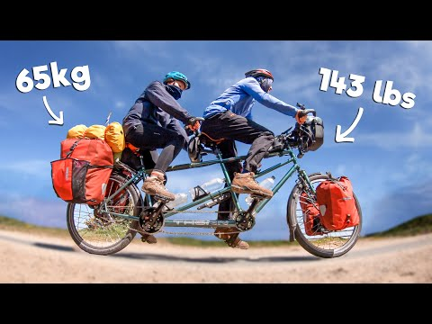 This Bicycle Weighs 65kg and it Hurts Uphill! | Ep.4 | 1000km Cycling England's Hilliest Coastline thumbnail