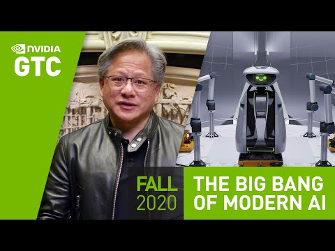 """GPU Technology Conference (GTC) Keynote Oct 2020 