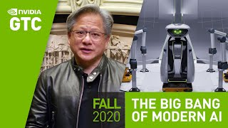 "GPU Technology Conference (GTC) Keynote Oct 2020 | Part 1: ""The Coming Age of AI"""