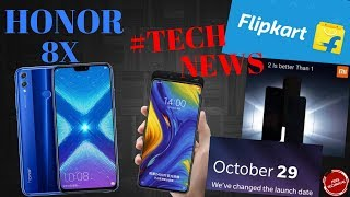 HONOR 8X FULL SPECS|| ONEPLUS 6T| REDMI NOTE 6 PRO LEAK| NOKIA 8.1| FLIPKART & AMAZON SALES..