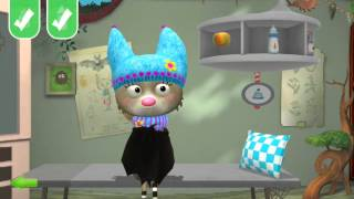 "Gambar cover Meet Charlotte - the little bat from our kids app ""Little Fox Animal Doctor"""