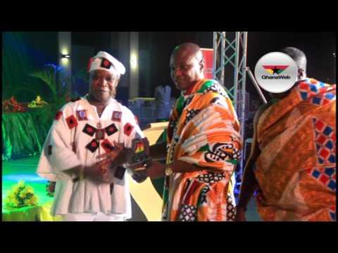 Akufo Addo, Wife and Bawumia awarded at Ghana@60 Unity Ball