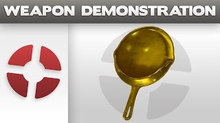 Weapon Demonstration: Golden Frying Pan
