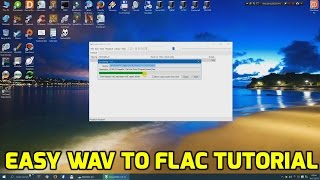 Creating a flac from a wav file (easy tutorial)