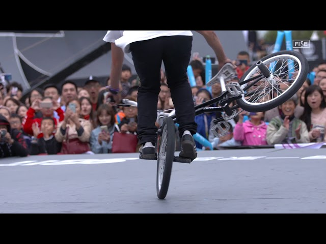 SERIOUS spin form Takumi Isogai | Honor Sick Trick at FISE Chengdu 2018