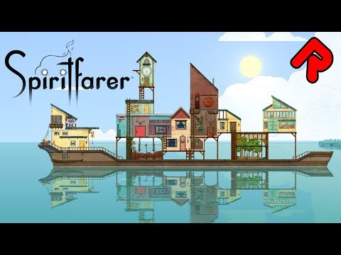 SPIRITFARER gameplay: Build a Boat to Ferry the Dead! (PC demo) | ALPHA SOUP